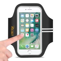 Running Sports Armband For Iphone 7 Plus/ 6s Plus Or 5.5 Inches Device In Black (5.5x5.5 Inches)