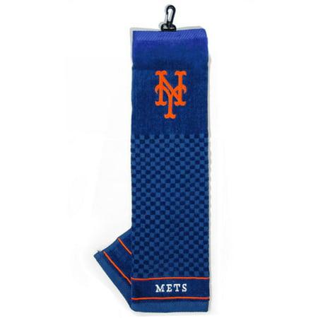 Team Golf MLB New York Mets Embroidered Golf Towel