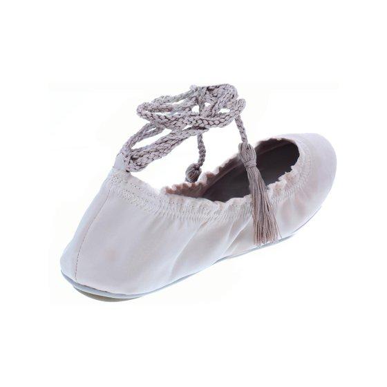 614435f53 Joie - Joie Womens Bandele Satin Ankle Wrap Ballet Flats - Walmart.com