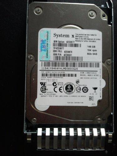"""IBM 44W2265 300GB 2.5"""" SAS 10K 6Gb s Slim-HS Secure Encrypted Drive by IBM"""