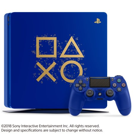 Sony PlayStation 4 1TB Slim Days of Play Limited Edition Blue, 3003131