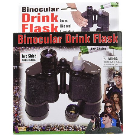 Double Sided Binocular Flask, Umbrella Flask By Forum Novelties](Novelty Flasks)