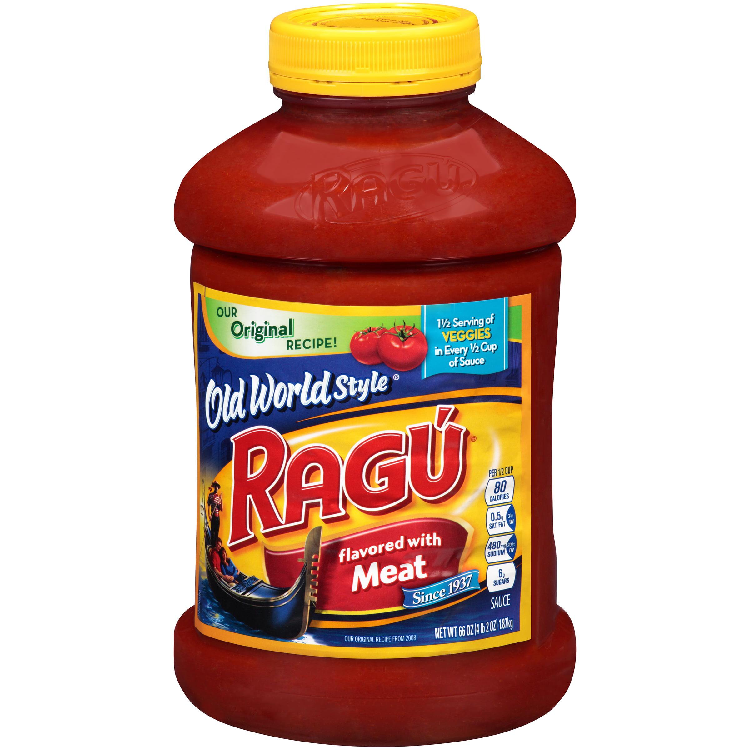 Ragú Old World Style Meat Pasta Sauce 66 oz.