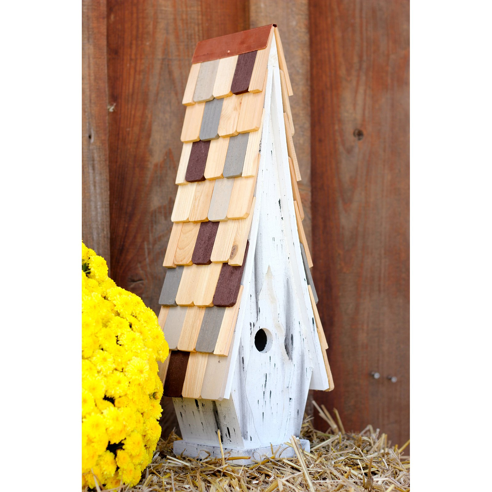 Heartwood High Cotton Bird House