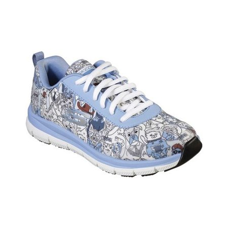 Women's Skechers Work RF Comfort Flex HC Pro SR Happy Tails Sneaker