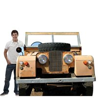 5 ft. 8 in. Safari Vehicle Photo Stand In