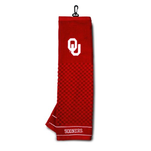 Team Golf NCAA Oklahoma Embroidered Golf Towel by Generic