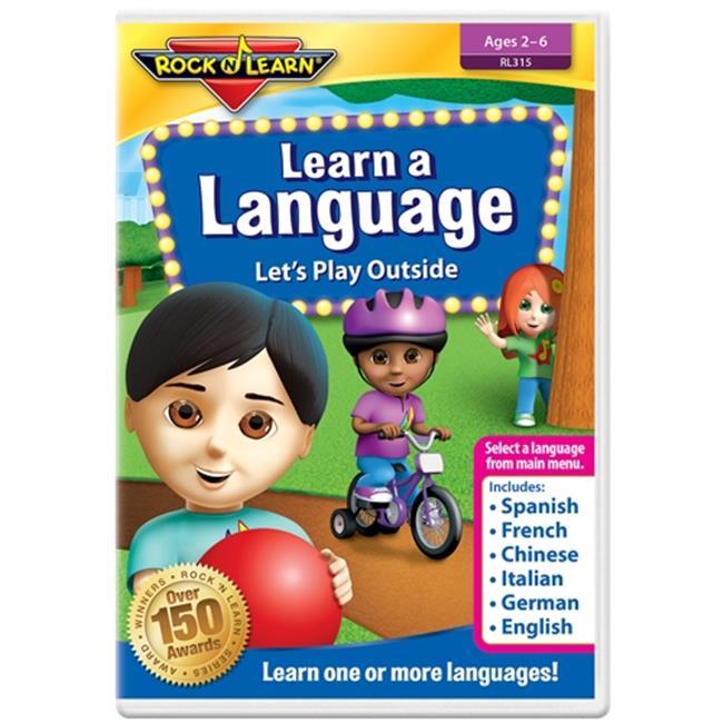 Rock N Learn RL-315 Rock N Learn Learn A Language Dvd - image 1 of 1