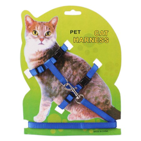 Cat Harness with Leash Pet Adjustable Breathable Vest Kittens Chest Strap