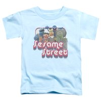 Sesame Street - Groovy Group - Toddler Short Sleeve Shirt - 2T