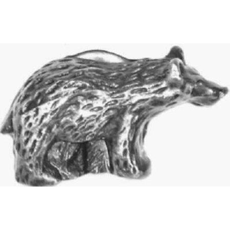 2 Pk Sierra Lifestyles Antique Brass Left Bear Cabinet