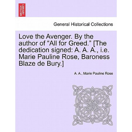 Rosa Signed (Love the Avenger. by the Author of