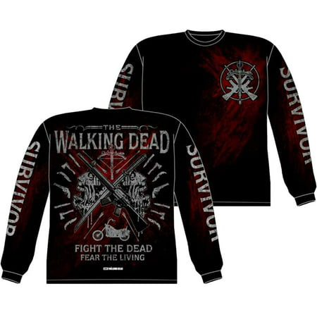 The Walking Dead Academy Long Sleeve (Winter Walking Clothes)