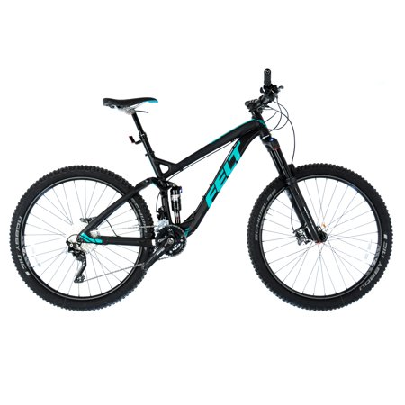 "Felt Decree 30 Trail 27.5 Full Suspension MTB Mountain Bike / 18"" Medium / Black"