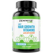 Best Dht Blockers - Zenwise Health Hair Growth Vitamins with Biotin Review