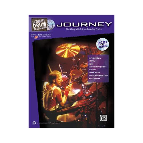 Alfred Ultimate Drum Play-Along: Journey (Book and 2CDS)