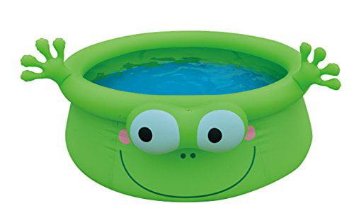 "Balance Living Inflatable Frog Animal Pool Toy (69"" diameter, 302 gallon capacity). by Balance Living"