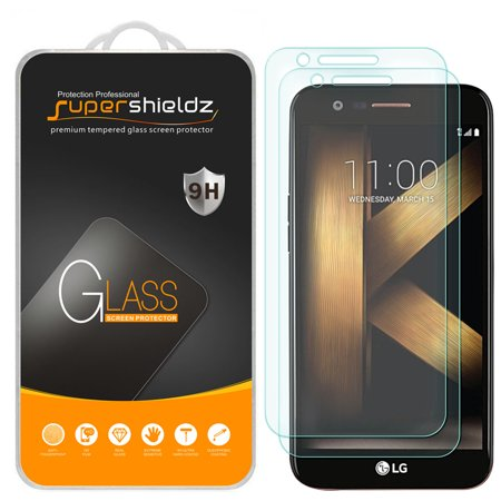 e0e8fb100  2-Pack  Supershieldz for LG K20 V   K20V Tempered Glass Screen Protector