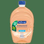 Softsoap Antibacterial Liquid Hand Soap Refill, Crisp Clean 50oz