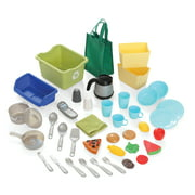 Step2 Heart of the Home Kitchen Play Set with 40 Piece Accessory set