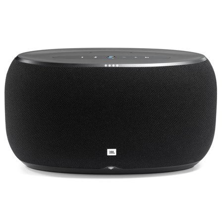 JBL Link 500 Black Wireless Speaker with Google Voice AssistantLIKE NEW IN Open