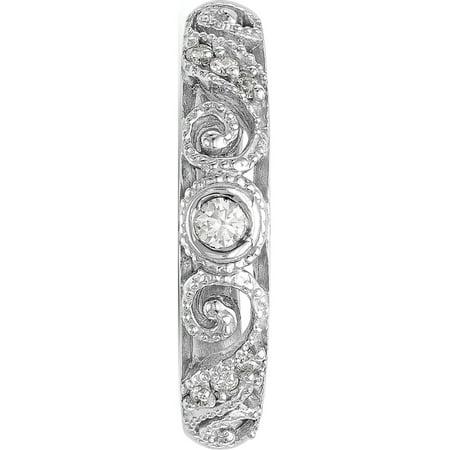 ?tats-Unis - Or blanc 14 ct AA ? diamants - image 5 de 7