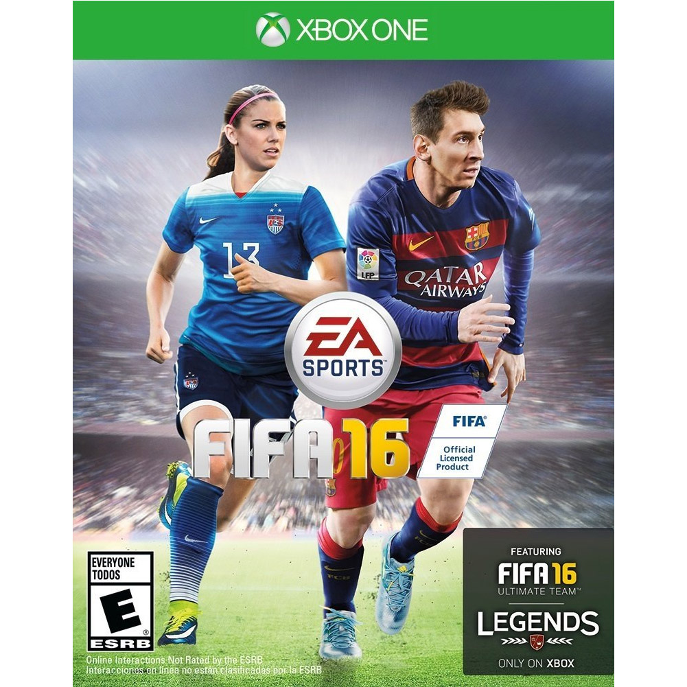 FIFA 16, Electronic Arts, Xbox One, 014633369281