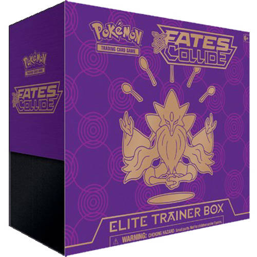 Pokemon XY Fates Collide Elite Trainer Box by Pokemon