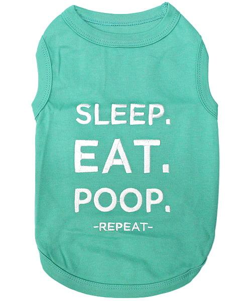 Eat Sleep Poo Baby Feeding Bib Gift