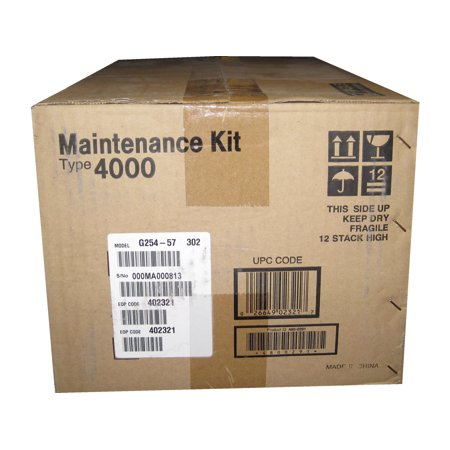 - Ricoh Type 4000 Maintenance Kit for CL4000DN Printer - 100000 Page - Fuser Unit, Transfer Roll, Paper Roller