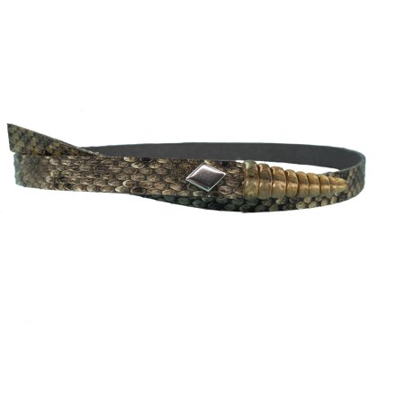 - 1/2 inch Real Rattlesnake Hat Band with Rattle