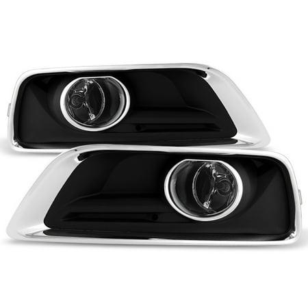 - Fit 2013 2014 2015 Chevy Malibu Bumper Clear Fog Lights w/Switch+Bulbs+Cover