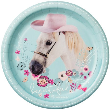 Rachael Hale Beautiful Horse Dinner Plates (8) (Dinner Plate Rachel Ray)