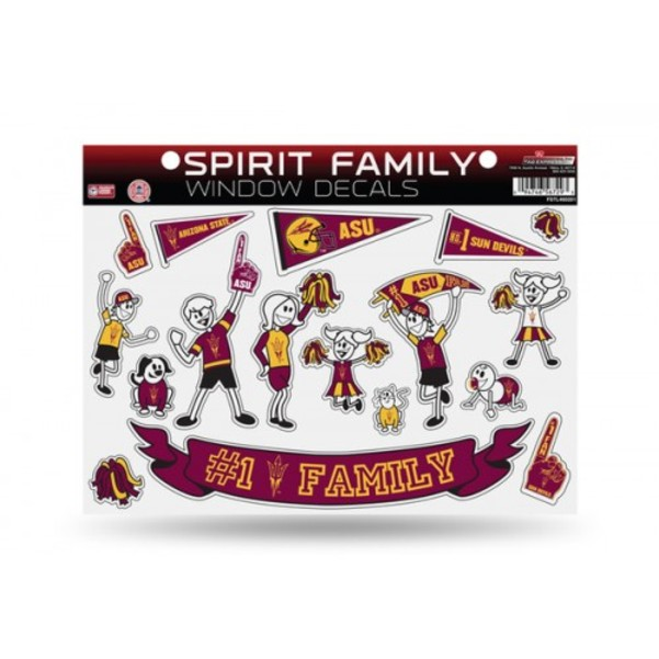 Arizona State Sun Devils Family Decal Set