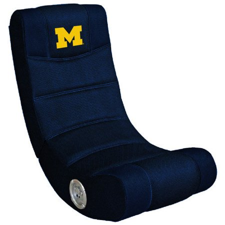 UNIVERSITY OF MICHIGAN Wolverines Video Game Chair with Blue Tooth