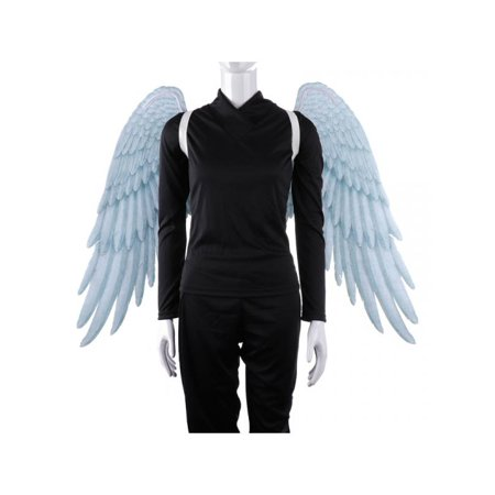 Halloween Fallen Angel Wings (Topumt Unisex Adults Angel Wings Halloween Theme Party Cosplay)