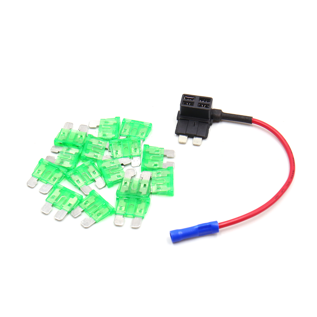Car Add A Circuit Standard 30a Atc Ato Regular Blade Style Fuse Box Melted Qty
