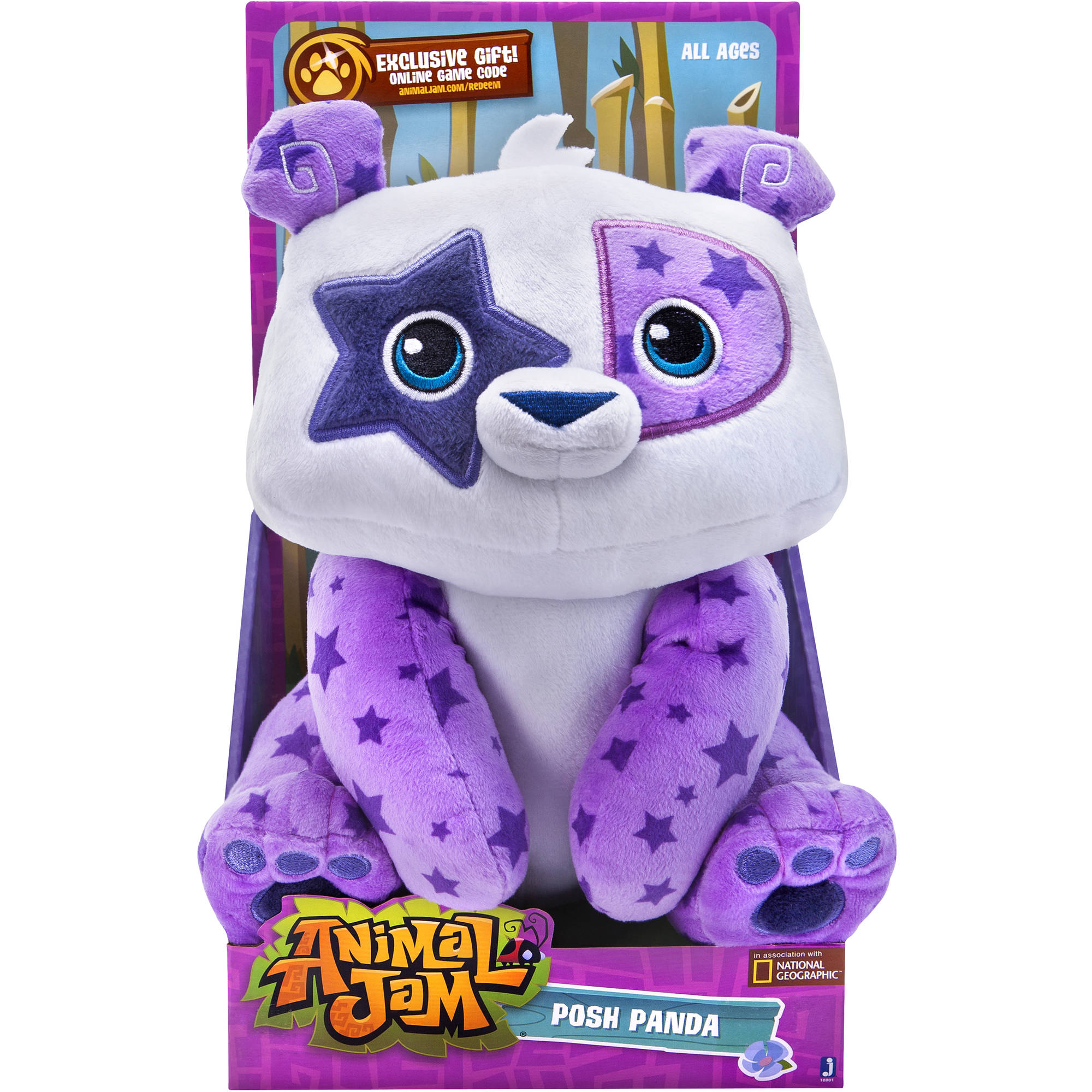 Animal Jam Cuddly Panda Plush Walmart Com
