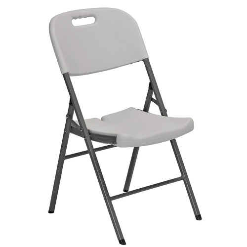 Sandusky Plastic Folding Chairs 4 Pack Walmart Com