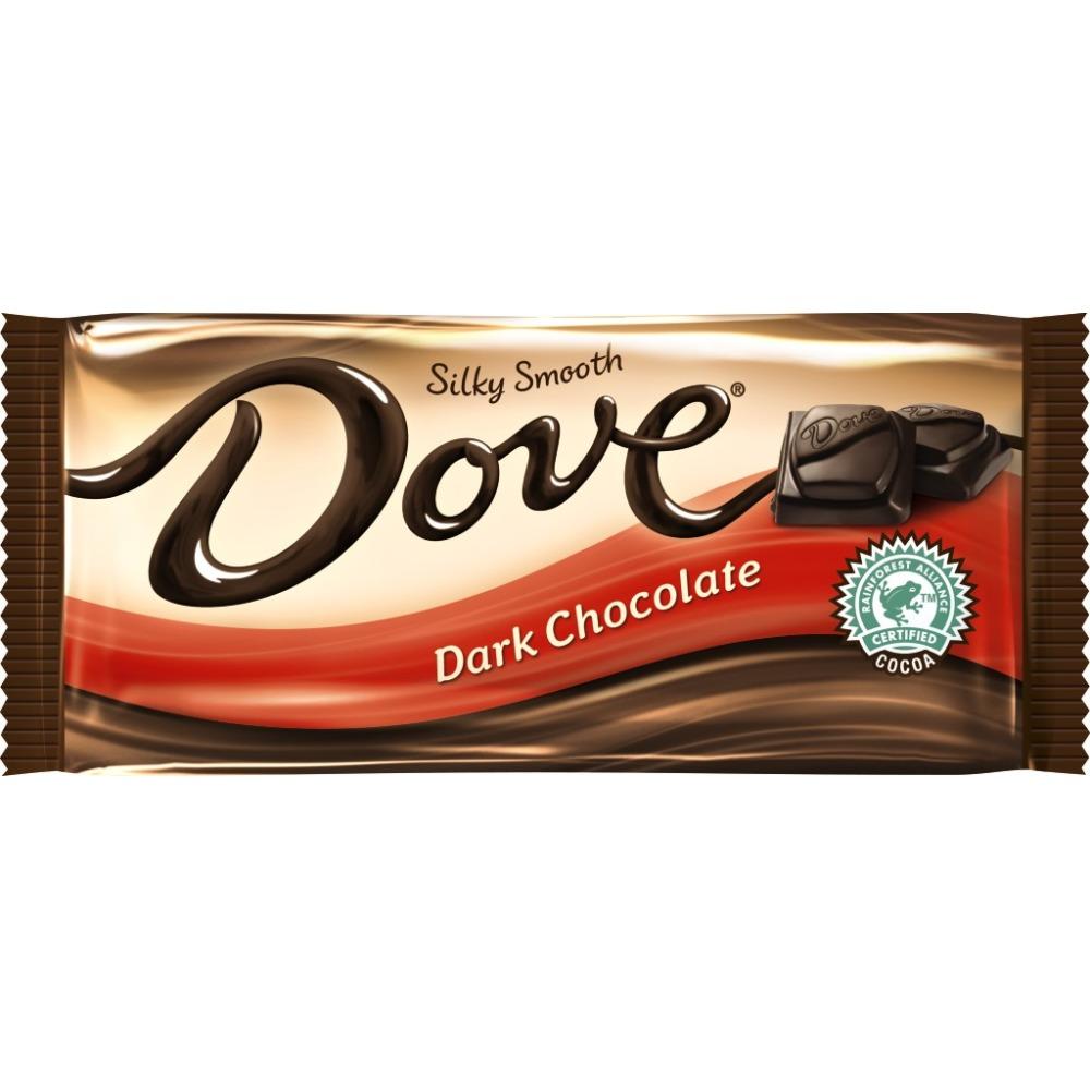 DOVE Dark Chocolate Sharing Size Candy Bar, 3.30 oz