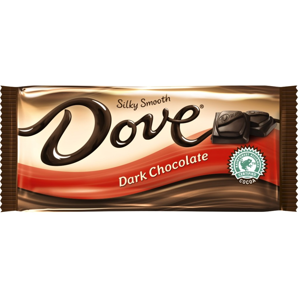 DOVE Dark Chocolate Sharing Size Candy Bar, 3.30 oz
