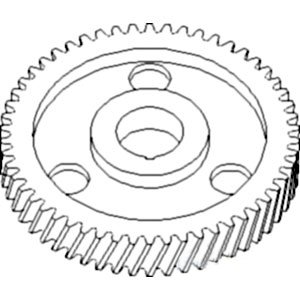 70227038 Camshaft Timing Gear Made To Fit Allis Chalmers