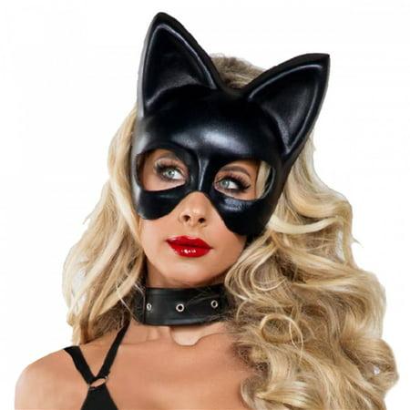 Full Cat Mask Adult Costume Accessory](Kids Cat Mask)
