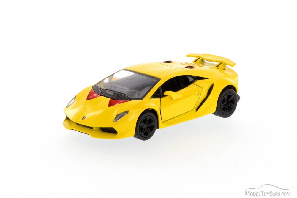 Lamborghini Sesto Elemento Hard Top Yellow Kinsmart 5359d 1 38