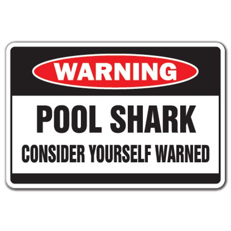 DROPPING KIDS OFF AT THE POOL Warning Sign swim swimming | Indoor/Outdoor | 12