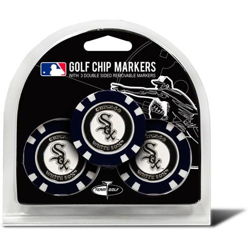 Team Golf MLB Chicago White Sox 3 Pack Golf Chip Ball Markers