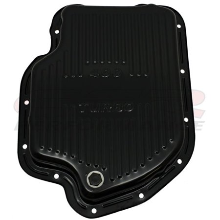 CFR HZ-9121-C Chevy-Gm Turbo TH-400 Steel Transmission Pan, Chrome