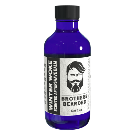 BrothersBearded, WinterWoke Scented After Shave Balm, 2 oz. By Scented After Shave