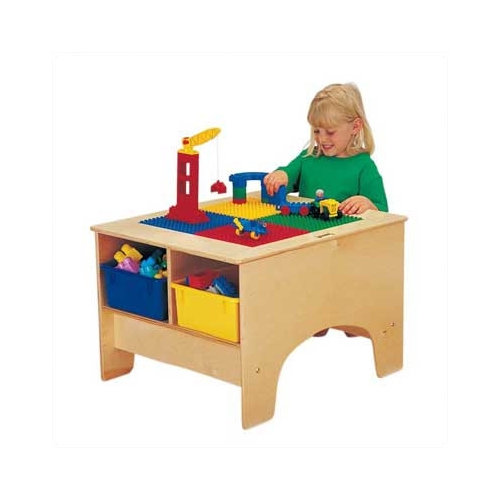 Jonti-Craft KYDZ Building Table - Lego  Compatible