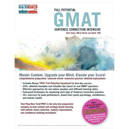 Full Potential GMAT Sentence Correction Intensive - eBook